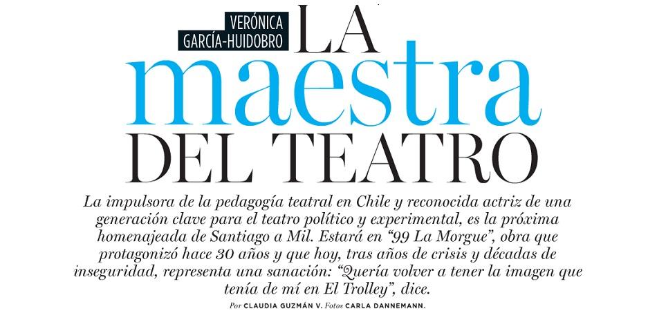 Entrevista a Verónica García-Huidobro en Revista Ya